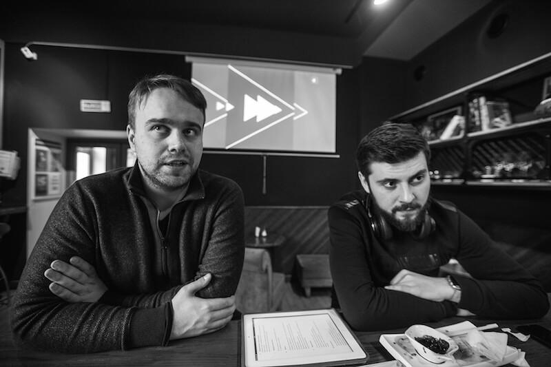 Виктор Крюков и Алексей Коротков