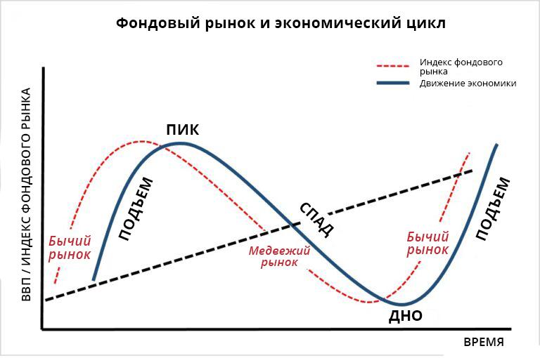 основные фазы экономического цикла